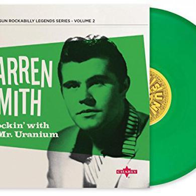 Warren Smith ROCKIN WITH MR URANIUM Vinyl Record