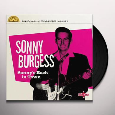 Sonny Burgress SONNY'S BACK IN TOWN Vinyl Record