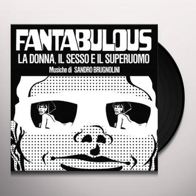 Sandro Brugnolini FANTABULOUS / O.S.T. Vinyl Record