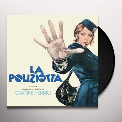 Gianni Ferrio LA POLIZIOTTA / O.S.T. Vinyl Record - Limited Edition, 180 Gram Pressing