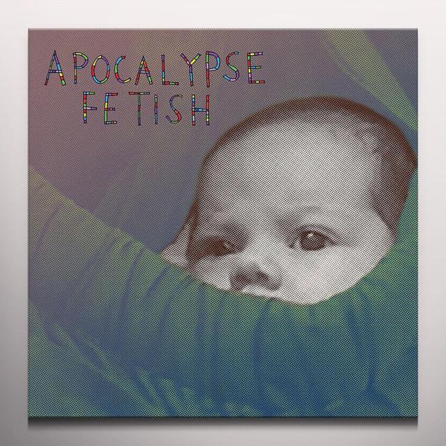 BARLOW,LOU APOCALYPSE FETISH Vinyl Record - Clear Vinyl, Digital Download Included