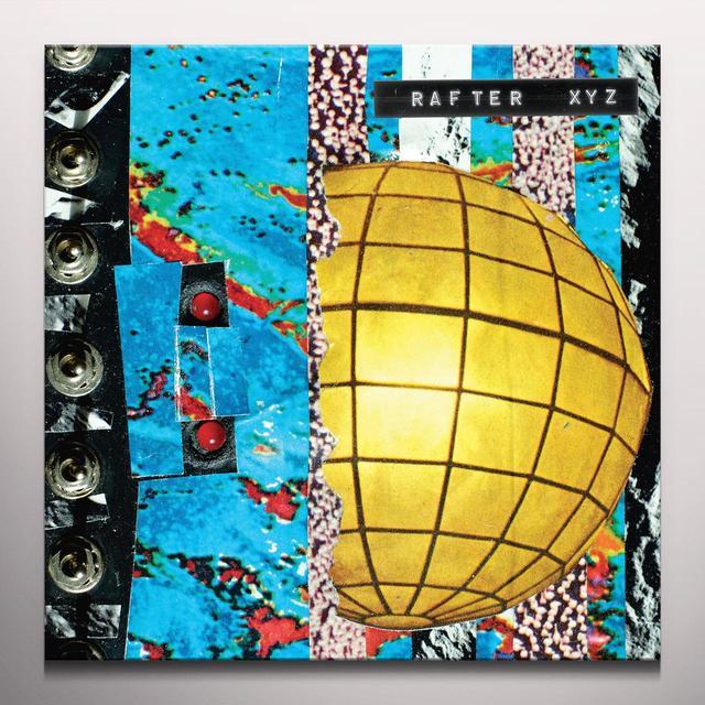 Rafter XYZ Vinyl Record - Colored Vinyl, Red Vinyl, Digital Download Included