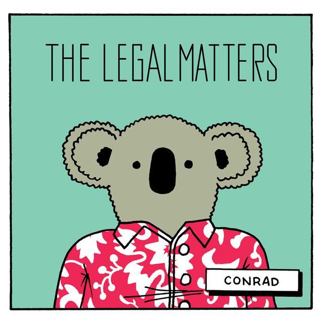LEGAL MATTERS CONRAD Vinyl Record - Digital Download Included