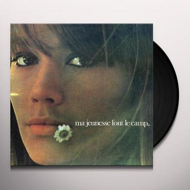 Francoise Hardy MA JEUNESSE FOUT LE CAMP Vinyl Record