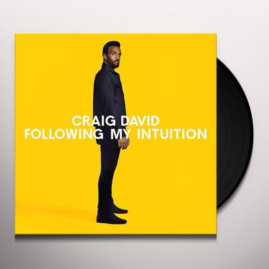 Craig David FOLLOWING MY INTUITION Vinyl Record - UK Import