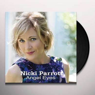 Nicki Parrott ANGEL EYES Vinyl Record - Japan Import