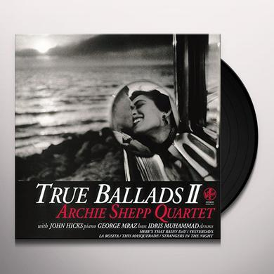 Archie Shepp TRUE BALLAD II Vinyl Record - Japan Import