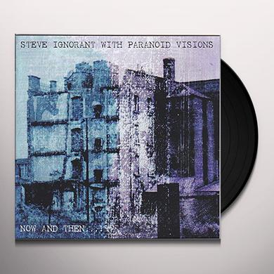 Steve Ignorant / Paranoid Visions NOW & THEN Vinyl Record - w/CD, UK Import
