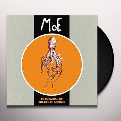 Moe EXAMINATION OF THE EYE OF A HORSE Vinyl Record - UK Import