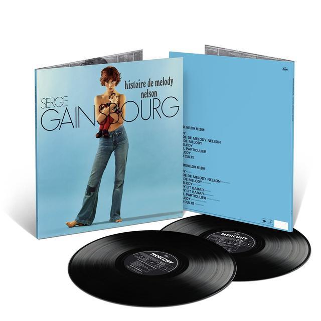 Serge Gainsbourg HISTOIRE DE MELODY NELSON  (FRA) Vinyl Record - Gatefold Sleeve