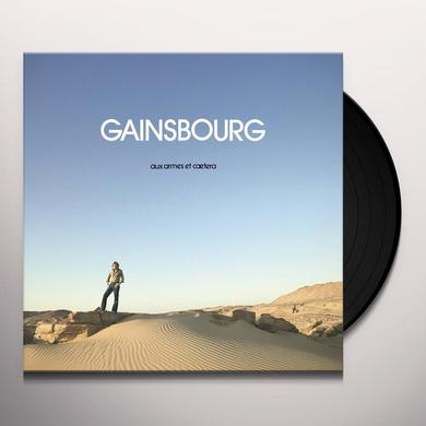 Serge Gainsbourg AUX ARMES ET CAETER Vinyl Record