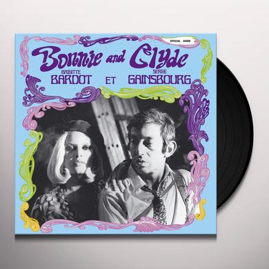 Serge Gainsbourg BONNIE & CLYDE Vinyl Record