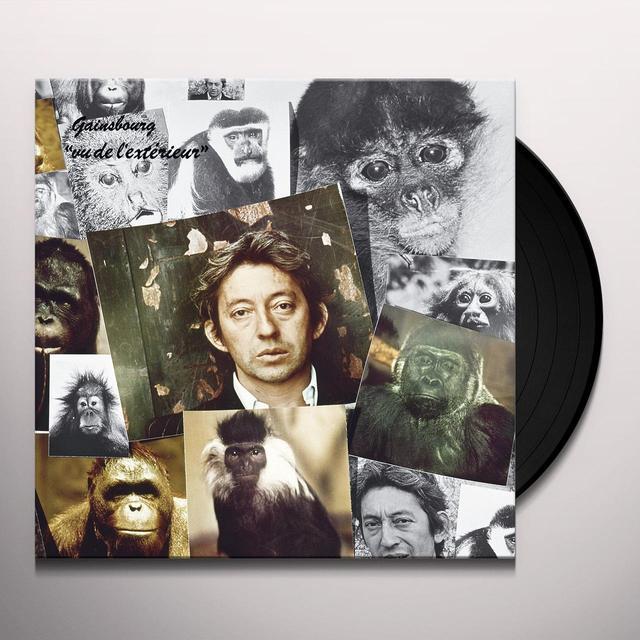 Serge Gainsbourg VU DE L'EXTERIEUR (FRA) Vinyl Record