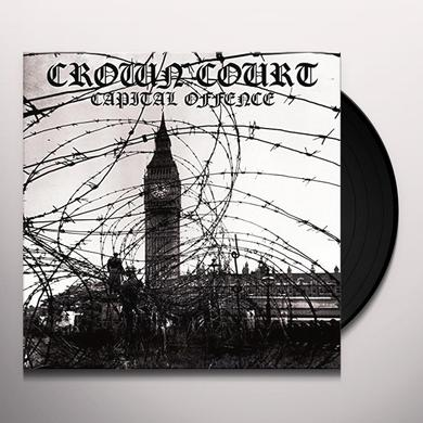 Crown Court CAPITAL OFFENCE Vinyl Record - UK Import