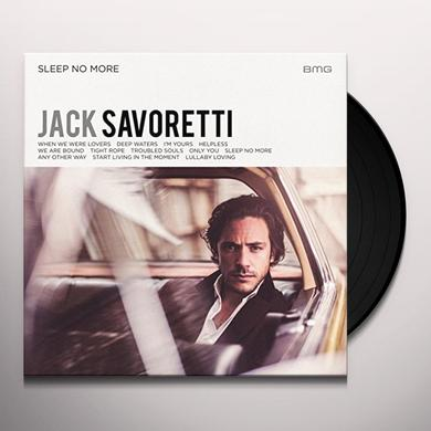 Jack Savoretti SLEEP NO MORE Vinyl Record