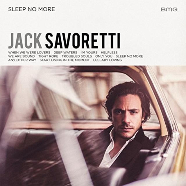 Jack Savoretti SLEEP NO MORE Vinyl Record - UK Import
