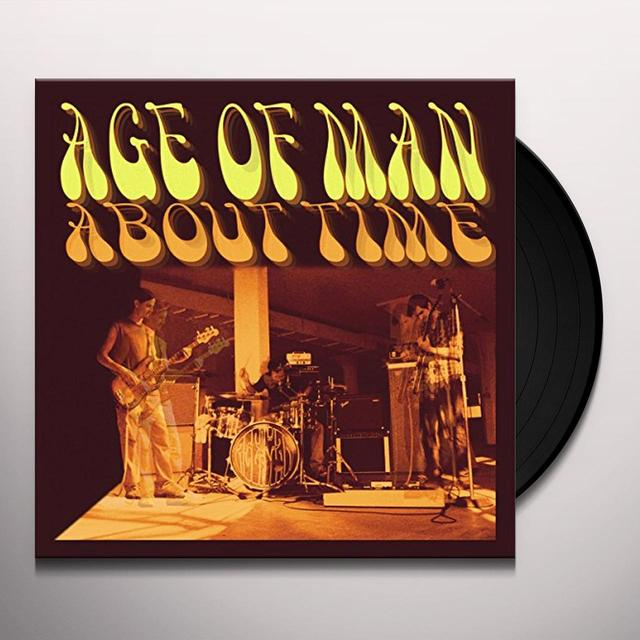 AGE OF MAN ABOUT TIME Vinyl Record - UK Import