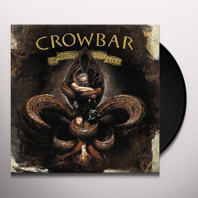 Crowbar SERPENT ONLY LIES Vinyl Record - w/CD, UK Import
