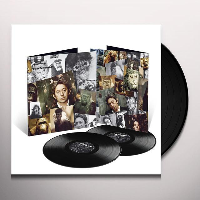 Serge Gainsbourg VU DE L'EXTERIEUR  (FRA) Vinyl Record - Gatefold Sleeve