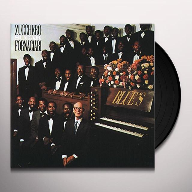 Zucchero BLUE'S Vinyl Record - Italy Import