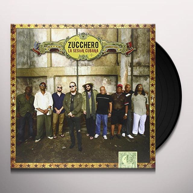 Zucchero LA SESION CUBANA Vinyl Record - Italy Import