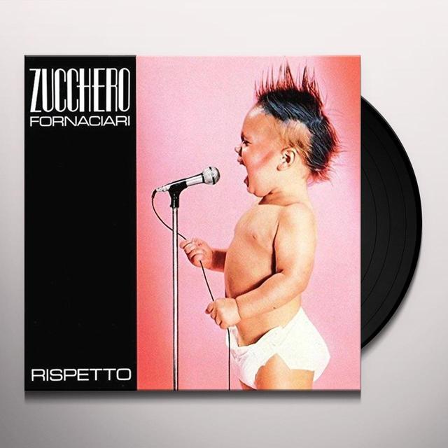 Zucchero RISPETTO Vinyl Record - Italy Import