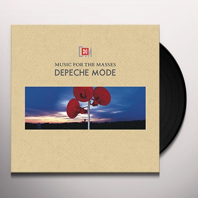 Depeche Mode MUSIC FOR THE MASSES Vinyl Record - Holland Import