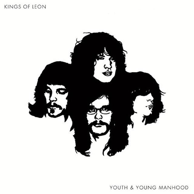Kings Of Leon YOUTH & YOUNG MANHOOD Vinyl Record - Holland Import