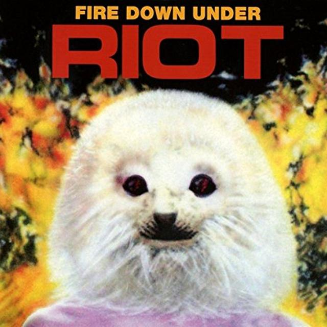 Riot FIRE DOWN UNDER Vinyl Record - 180 Gram Pressing, Reissue, Holland Import