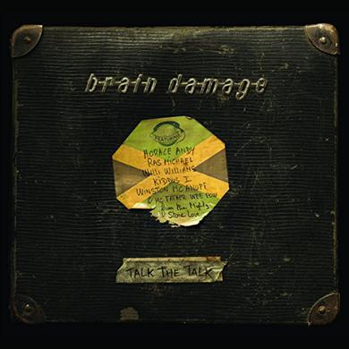 Brain Damage TALK THE TALK Vinyl Record