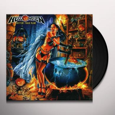 Helloween BETTER THAN RAW Vinyl Record - UK Import