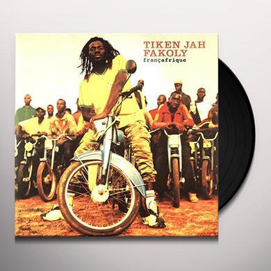 Tiken Jah Fakoly FRANCAFRIQUE Vinyl Record