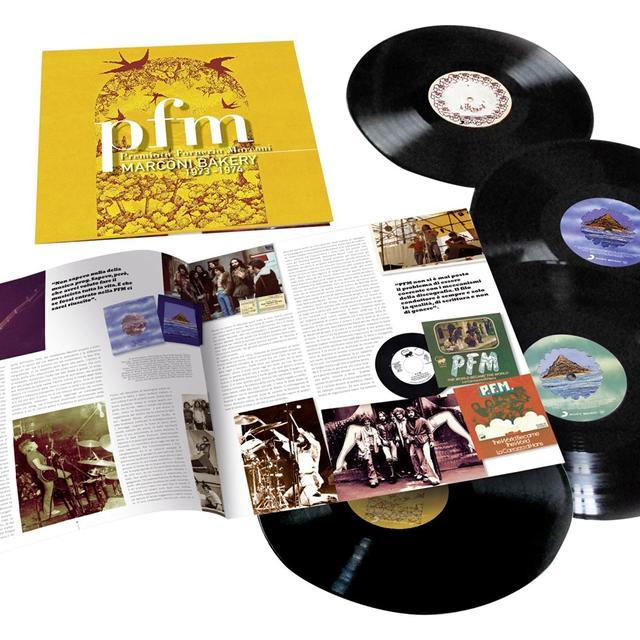 Pfm MARCONI BAKERY 1973-1975 Vinyl Record - Italy Import
