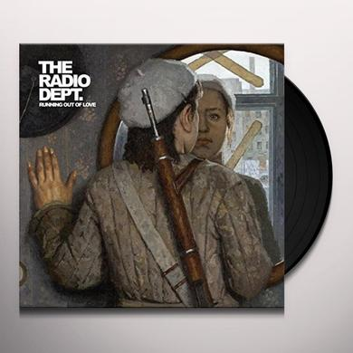The Radio Dept. RUNNING OUT OF LOVE Vinyl Record - Clear Vinyl, Limited Edition