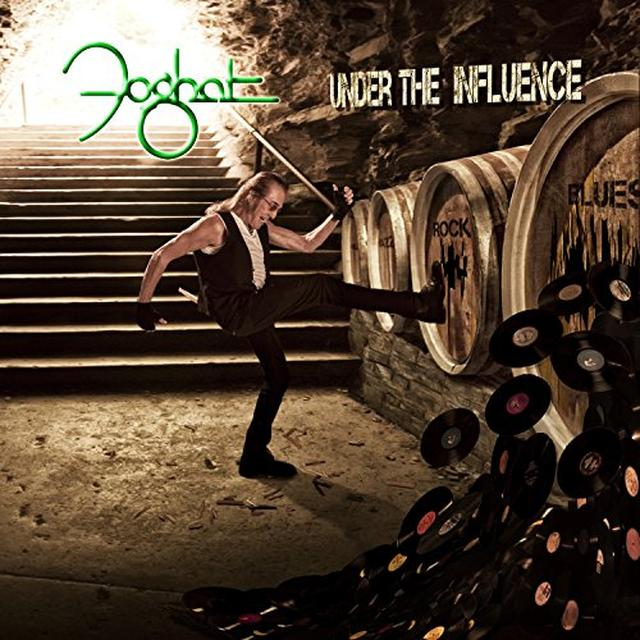 Foghat UNDER THE INFLUENCE Vinyl Record - Gatefold Sleeve