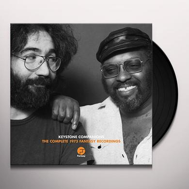 Merl Saunders & Jerry Garcia KEYSTONE COMPANIONS: COMPLETE FANTASY RECORDINGS Vinyl Record