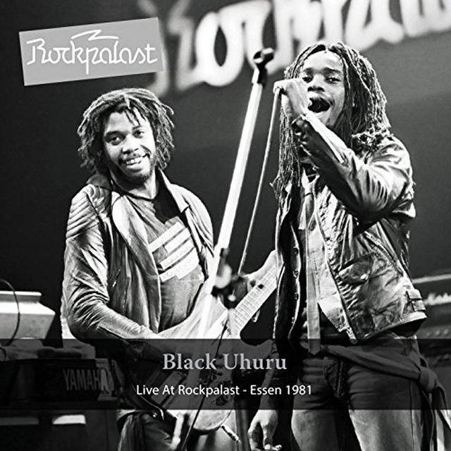 Black Uhuru LIVE AT ROCKPALAST Vinyl Record