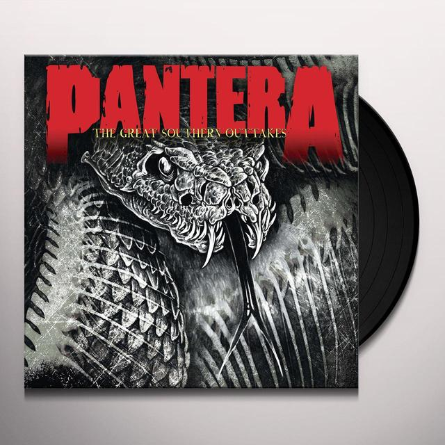 Pantera GREAT SOUTHERN OUTTAKES Vinyl Record