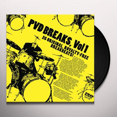 Pat Van Dyke PVD BREAKS VOL 1 (ROYALTY FREE BREAKS) Vinyl Record