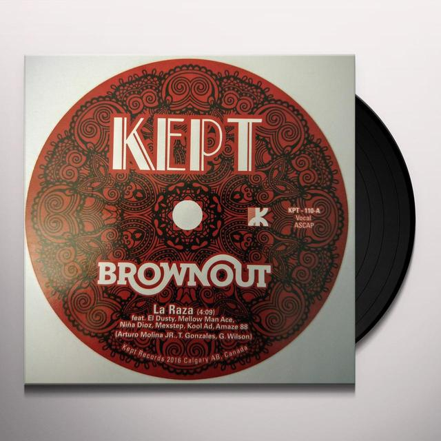 Brownout LA RAZA / ARABEESH Vinyl Record