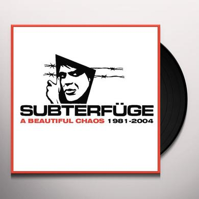 Subterfuge BEAUTIFUL CHAOS: 1981-2004 Vinyl Record