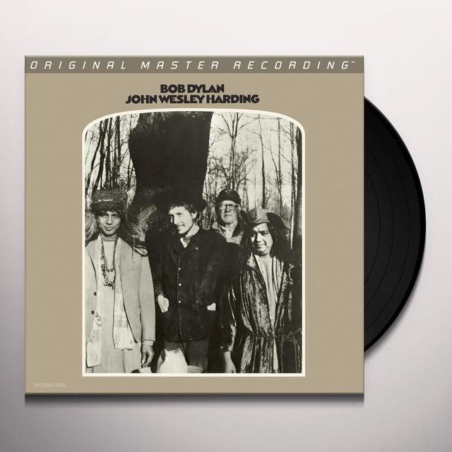 Bob Dylan JOHN WESLEY HARDING Vinyl Record - Limited Edition, 180 Gram Pressing, Mono