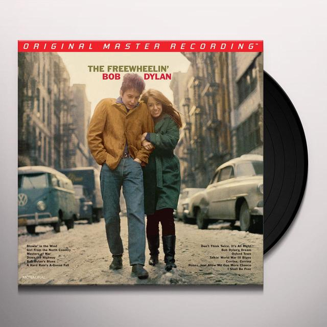 FREEWHEELIN' BOB DYLAN Vinyl Record - Limited Edition, 180 Gram Pressing, Mono