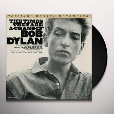 Bob Dylan TIMES THEY ARE A-CHANGIN' Vinyl Record - Limited Edition, 180 Gram Pressing, Mono
