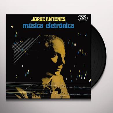 Jorge Antunes MUSICA ELETRONICA Vinyl Record