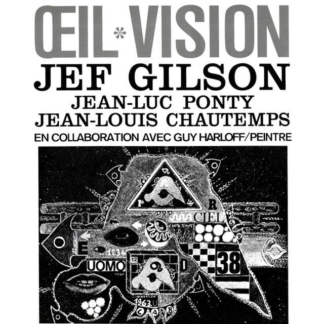 GILSON,JEF / PONTY,JEAN LUC / CHAUTEMPS,JEAN LOUIS OEIL VISION Vinyl Record