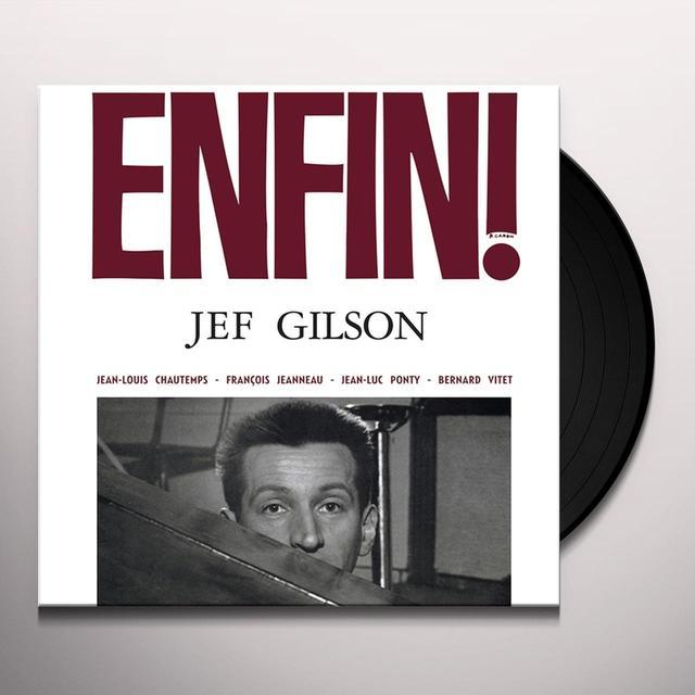 Jef Gilson ENFIN Vinyl Record