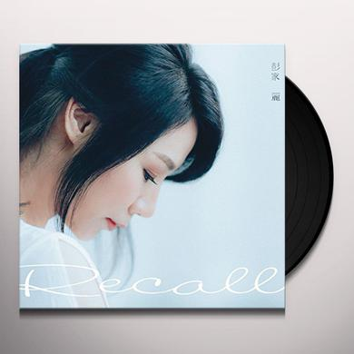 ANGELA PANG RECALL (PRODUCED BY DANNY SUMMER) Vinyl Record