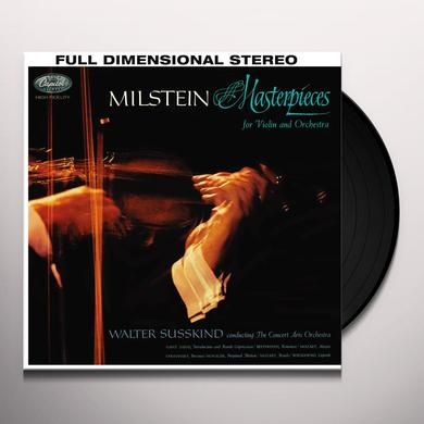Nathan Milstein MASTERPIECES FOR VIOLIN & ORCHESTRA Vinyl Record - 180 Gram Pressing, Asia Import