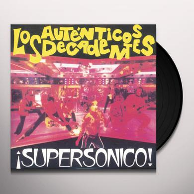 Autenticos Decadentes SUPERSONICO Vinyl Record